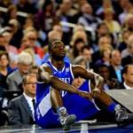 It seems Kentucky?s Julius Randle knows where he sits in the NBA Draft order. Jamie Squire/Getty Images